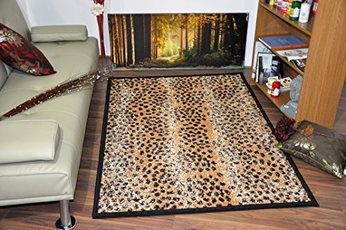Wildlife Safari Animal Print Rug Carpet 16 Different Colours U0026 Design  Cheetah...: Amazon.co.uk: Kitchen U0026 Home