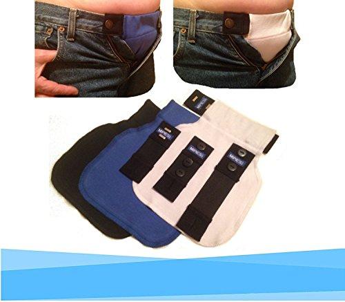Cintura-Estensibile-per-la-gravidanza-Fascia-premaman-per-pantaloni-e-gonne-da-adeguare-alla-gravidanza-4-cinturini-elasticizzati-e-3-fascette-in-tessuto