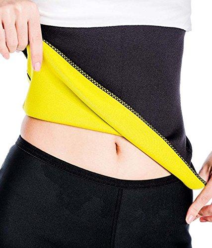 God Gift Hot Shapers Slimming Belt (free size_black)