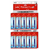 Cello Pointec Pro Gel Pen - Pack of 50 (Blue)