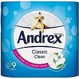 Kimberley Clark vkc4970125-Andrex Papier Toilette Blanc vkc4970125(9rouleaux)