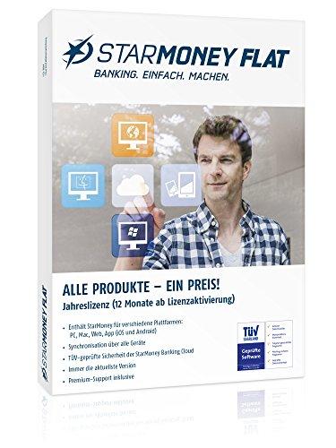 starfinanz STARMONEY Flat Online-Banking Jahreslizenz -DEUTSCH- inkl. Premiumsupport (DVD-Box)