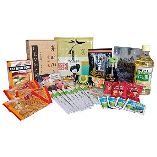 Kit sushi cena e snack - 14 prodotti