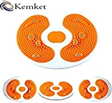 Kemket Magnetic Waist Twister Disc Fitness Massage Round With Hand Ropes And Without Ropes Foot Massager Stepper wriggled plate
