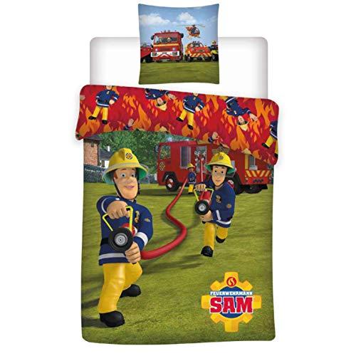 ᑕ ᑐ Feuerwehrmann Sam Bettwasche Feuerwehrmann Sam Bettwasche