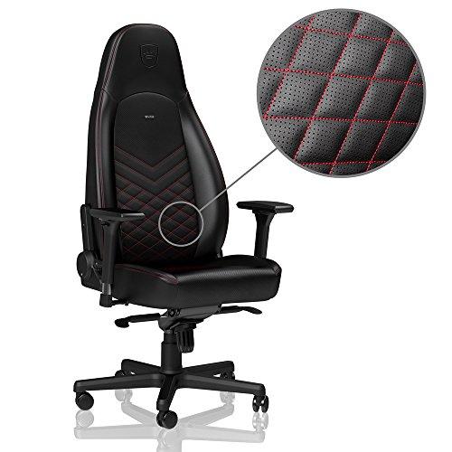 noblechairs ICON Gaming Stuhl - schwarz/rot