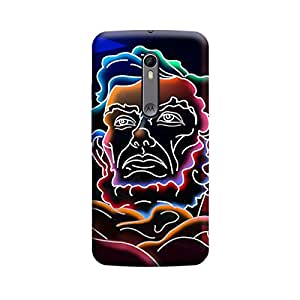 CaseLite Premium Printed Mobile Back Case Cover With Full protection For Moto X Style (Designer Case)