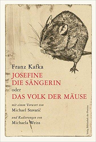 Buchseite und Rezensionen zu 'Josefine, die Sängerin oder das Volk der Mäuse' von Franz Kafka