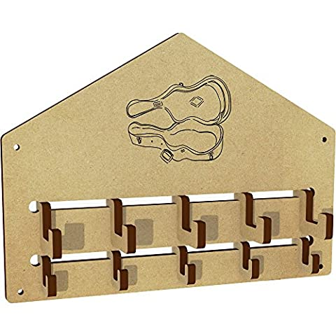 'Guitar Case' Wall Mounted Coat Hooks / Rack (WH00016644)