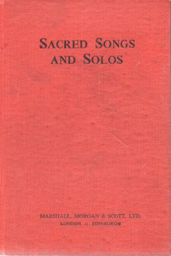 Sacred Songs and Solos: Twelve Hundred Hymns