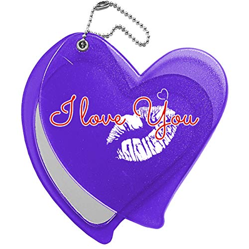 My Custom Style Collection de miroirs # Saint Valentin# Cuore a slitta Viola Sanvalentino-iloveyou2