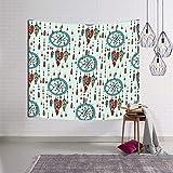 jtxqe Tapestry Wall Tapestry Wall Hanging Telo Mare Arazzo Indiano Tessuto arredo Coperta Boho Yoga