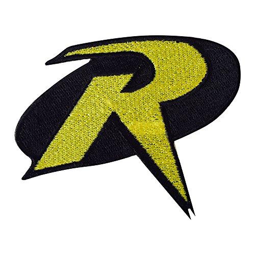 Robin Logo Crest Badge Eisen/Nähen auf bestickt Fancy Kleid Patch (Echte Superhelden Kostüme)
