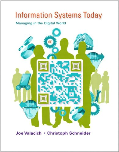 Information Systems Today:Managing in the Digital World