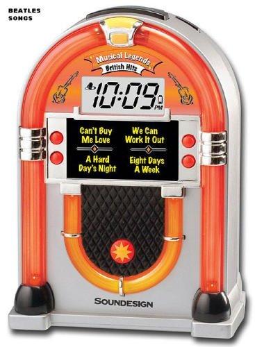 SoundDesign 3163B Musical Legends British Hits Jukebox