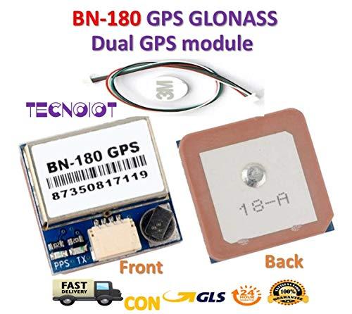 Beitian BN-180 Module UART TTL Dual Glonass GPS Passive Antenna |Beitian BN-180 Modul UART TTL GPS-Passiv-Antenne -