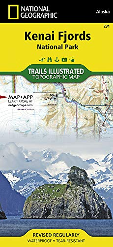 Kenai Fjords National Park: National Geographic Trails Illustrated Alaska (National Geographic Trails Illustrated Map, Band 231)