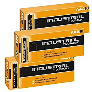 Duracell 30 X AAA Industrial Alkaline Battery - Orange