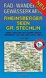 Rad - Wander- und Gewässerkarte Rheinsberger Seen, Großer Stechlin: Mit Canow, Kleinzerlang, Flecken Zechlin, Rheinsberg, Dollgow, Menz, Neuglobsow. ... / Rad-, Wander- und Gewässerkarten, 1:35.000)