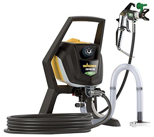 WAGNER Airless Farbsprühsystem Control Pro 350 R für Dispersions-/Latexfarben, Lacke & Lasuren im Innenbereich, 15 m²-2 min, Druckregulierung, 110 bar, Schlauch 15 m -