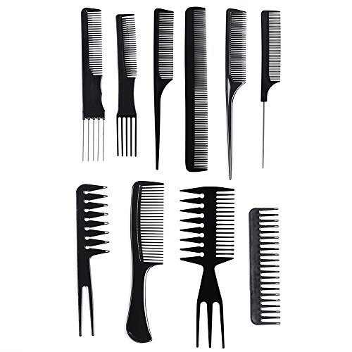 10 Piece Professional Styling Comb Set