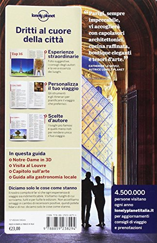Parigi. Con carta estraibile (Guide città EDT/Lonely Planet)
