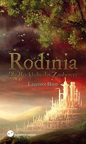 RODINIA - Die Rückkehr des Zauberers: High Fantasy - Feuer-magie-cover