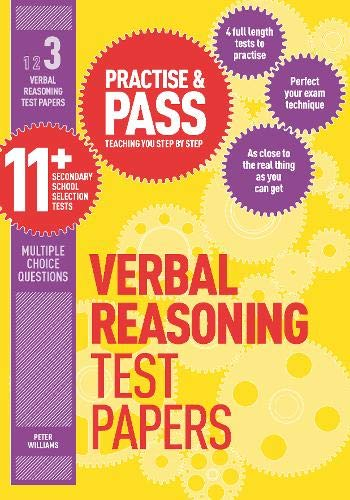 Practise & Pass 11+ Level Three: Verbal Reasoning Practice Test Papers: Level 3 Cover Image