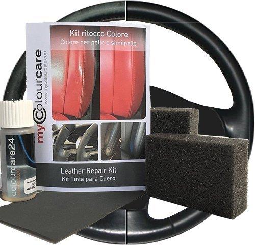 Colourcare24Set zum Ausbessern von Lack an Lenkrädern aus Leder und Kunstleder, zur...
