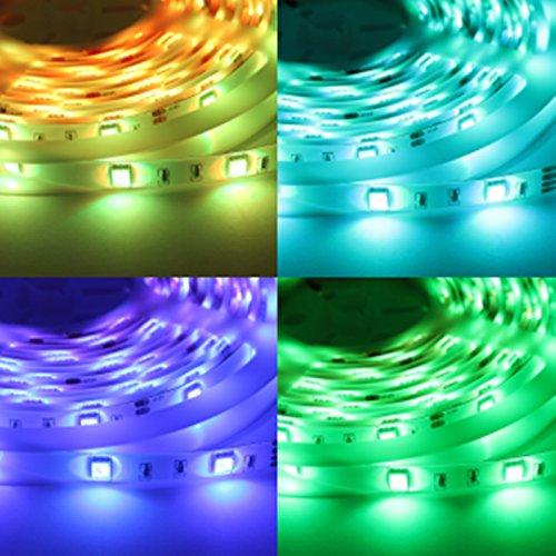 24 W 420 lumens 30LEDs/M 4,8 W/M bande LED RVB IP65 5 m rôle
