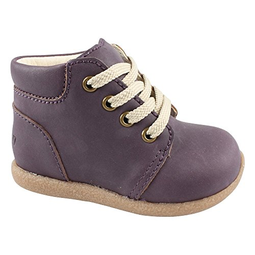 EN FANT Beginner Shoe Lace, Chaussures Bateau Fille Violet - Violett (Purple 02)