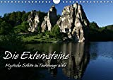 Die Externsteine (Wandkalender 2017 DIN A4 quer): Mystische Stätte im Teutoburger Wald (Monatskalender, 14 Seiten ) (CALVENDO Natur) - Martina Berg