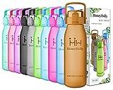 Die besten Eco Friendly Trinkflaschen - HoneyHolly Best Sports Trinkflasche Wasserflasche - 32oz/1L Bewertungen