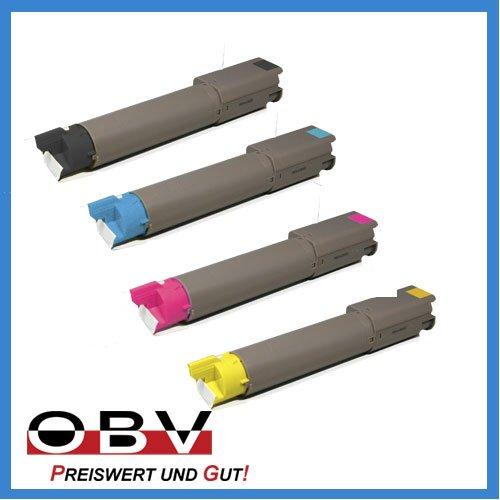 OBV 4x kompatibler Toner für OKI C3300 C3400 C3450 C3530 C3600 -...