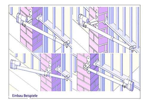automatisch gesteuerts 2-flügeliges Tor, Trafo, 2 Kanal Steuerung mit Lampe 24V