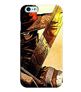 Clarks Printed Designer Back Cover For Apple iPhone 6 Plus