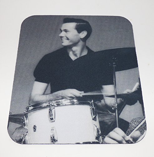 JOHNNY CARSON Playing the Drums COMPUTER MOUSEPAD The Tonight Show