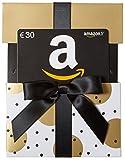 Carte cadeau Amazon.fr - €30 - Dans un étui de Noël Doré...