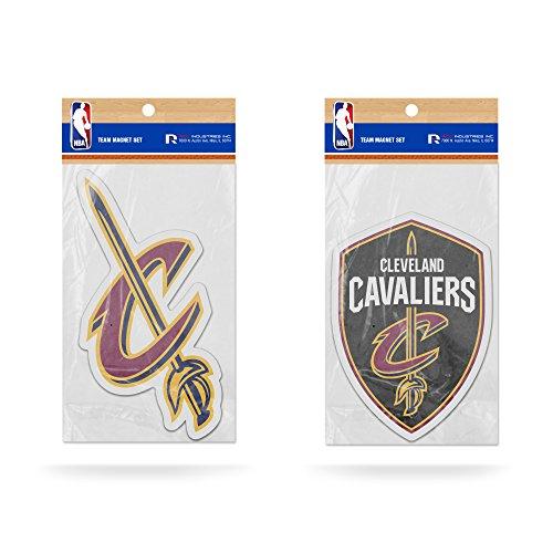 Rico NBA Cleveland Cavaliers Magnet-Set mit Team-Logo, 2 Stück Cleveland Cavaliers-magnet