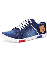 Red Rose Men's Blue Jens Sneakers Casual Shoes