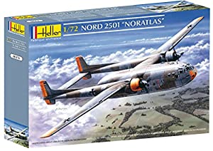 """Glow2B Heller - 80374 - Maqueta para Construir - Nord 2501 """"Noratlas - 1/72"""