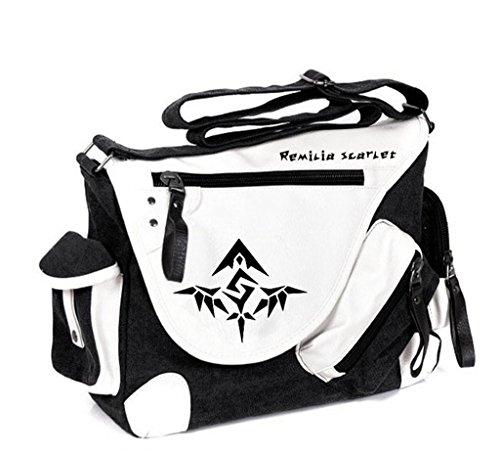 Kostüm Marisa Kirisame Cosplay - Siawasey Touhou Project Anime Cosplay Rucksack Umhängetasche Tasche Messenger Bag Umhängetasche