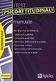 I test psicoattitudinali. Manuale