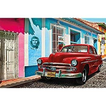 Blechschild XXL Nostalgie Auto Retro  Havana Oldtimer