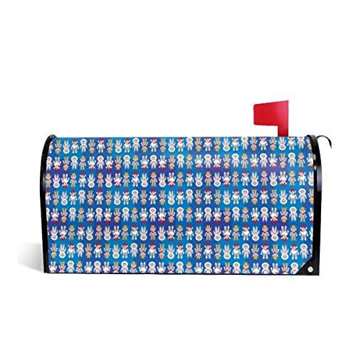 Preisvergleich Produktbild Suminla-Home Briefkastenabdeckung,  magnetisch,  Standardgröße,  mit Socken,  Affen
