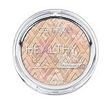 Catrice Cosmetics Healthy Look - Mattifying Powder - Translucent Nr. 010 Luminous Light Inhalt: 9g Matierender Puder in 4 perfekt abgestimmten Farben für einen gesunden und frischen Teint. Powder