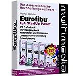 Eurofibu E/A 2018 StartUp Paket: Die Komplettlösung mit Eurofibu Einnahmen-/Ausgabenrechnung + Wareneingangsbuch + Kostenrechnung + UVA + Datensicherung. Für Windows 7 / 8 / 10.