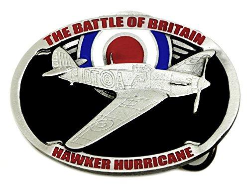 Hawker Hurrikan Gürtelschnalle - Die Schlacht von Großbritannien - Authentische Dragon Designs Markenprodukt (Hurrikan Breit)