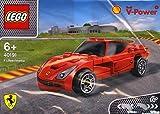 40191 Lego - Shell V-Power Jeu de Construction - Ferrari F12 Berlinetta Exclusive Sealed by LEGO polybag (Sachet Polybag)