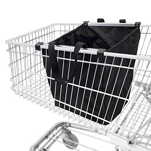 """achilles Easy-Shopper """"ALU"""", Bolsa para carro de compras, Carro de compras plegable, bolsa de compras adecuada para todos los carritos de compras actuales, 33x50x38cm"""
